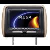 "Nesa Preloaded Headrest Monitor (7"" Widescreen - DVD - 3 Colour Skins)"