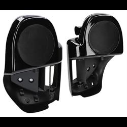 SaddleTramp Lower Vented Fairings with Speaker Housing (HD '97 - up)