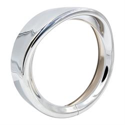 """SaddleTramp Visor Light Trim Ring (7"""" - Chrome - Select HD Models '83 - '17)"""