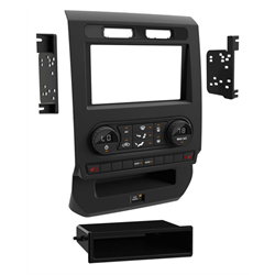 Metra Premium Ford w/ Manual Climate S/DDin Dash Kit ('15 - '17) - Special Order