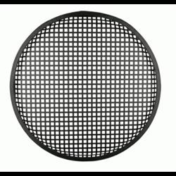"Speaker Grill (8"" - Waffle Style - Black)"
