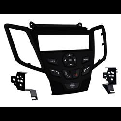 Metra Premium Ford Fiesta SDin Dash Kit (Black) ('10 - up)