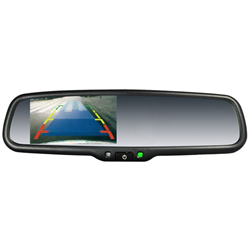 Rear-view Mirrors with Screens