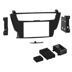 Metra Premium BMW 3 / 4 Series w/o Amp DDin Dash Kit ('14 - '16) - Special Order