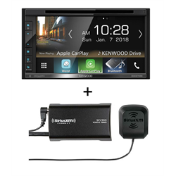 Kenwood DDX6705S Receiver + SiriusXM Vehicle Tuner