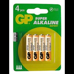 GP Alkaline Batteries (AAA Size - 1.5 Volt - 4 pk.)
