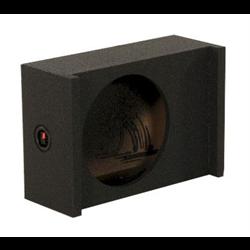 "QPower QBomb Universal Enclosure (Single 12"" - Shallow - Sealed)"