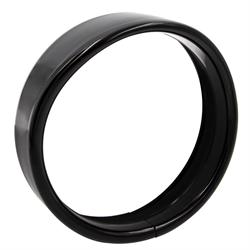 """SaddleTramp Visor Light Trim Ring (5.75"""" - Black - Select HD Models '94 - up)"""