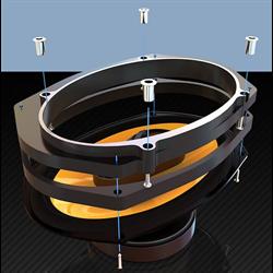 SaddleTramp Factory Lid Speaker Adapter Kit (Harley-Davidson '14 - up)