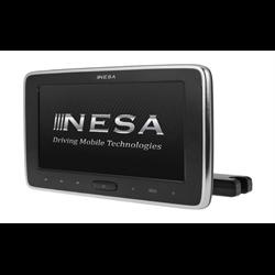"Nesa Preloaded Universal Headrest Mount (10"" - DVD / USB / AUX / SD / MHL)"