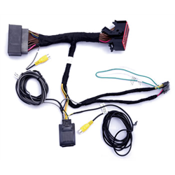 Crux Rear View Front View Int Harness Only Dodge Ram Jeep W