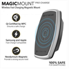 Additional images for Scosche MagicMount Pro Charge Magnetic Smartphone Mount (Qi Certified)