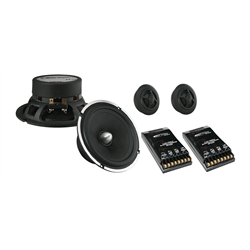 "Arc Audio ARC Series Component System (6.5"" - 125W RMS - 2-Way Coaxial)"