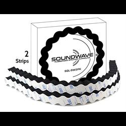 "SQL Soundwave Speaker Surround - Retail (2 x 23.2"" Closed Cell Foam Strips)"
