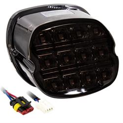 SaddleTramp LED Tail Light (Smoke Lens - Select HD Models '99 - up)