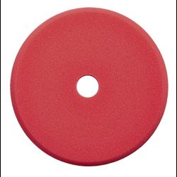 SONAX Cutting Pad (Red - 143 mm - DA Cut Pad - Hard)