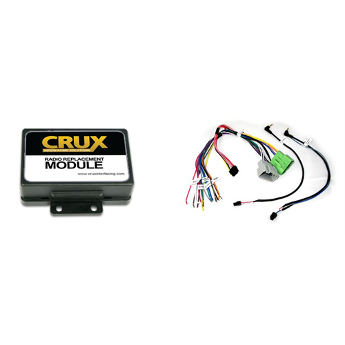 Crux Radio Replacement W/ SWC Retention (Volvo)