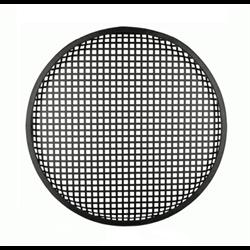 "Speaker Grill (18"" - Waffle Style - Black)"