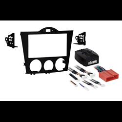 Metra Premium Mazda RX-8 DDin Dash Kit (Flat Black) ('04 - '08)
