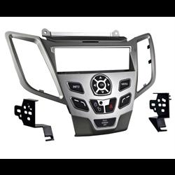 Metra Premium Ford Fiesta SDin Dash Kit (Silver) ('10 - up)