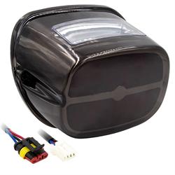 SaddleTramp OE Style LED Tail Light (Smoke Lens - Select HD Models '99 - up)
