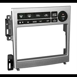 Metra Premium Infiniti G35 DDin Dash Kit (Brushed Aluminum) ('05 - '07)