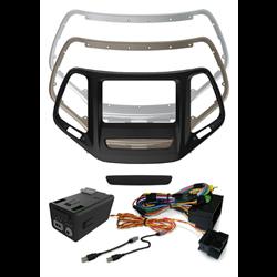 iDataLink Maestro Dash Kit + T-Harness + USB Ret. (Jeep Cherokee '14 - up)
