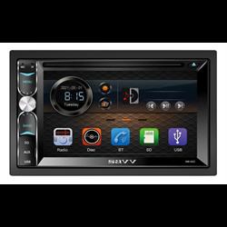 """Savv DDin Receiver (6.2"""" - DVD / USB / AUX / SD / Bluetooth / PhoneLink)"""