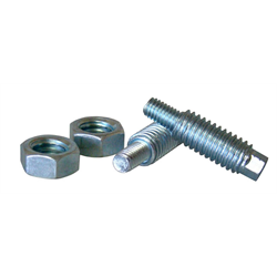 "XS Power Stud Adaptors (M6 to 3/8""  - Zinc Plated - Hardened Steel)"
