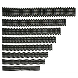 "Split Loom Tubing (1/2"" - Black - 100 ft.)"