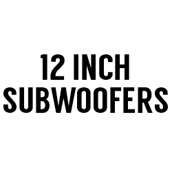 "All 12"" Subwoofers"