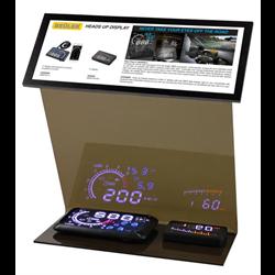 Accele Countertop HUD Display Package