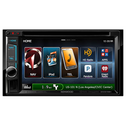 Kenwood Double Din Receivers (With Touchscreen)