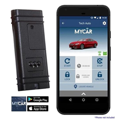MyCar Telematics Remote Start Interface (3 Year Service Plan Included)