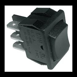 Miniature Rocker Switch - Momentary / Off / Momentary (5 pk.)