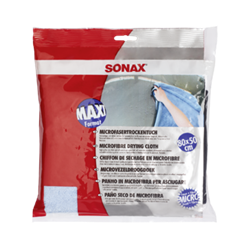 SONAX Microfiber Drying Cloth (80 cm x 50 cm - Thick Blue - 1pc.)