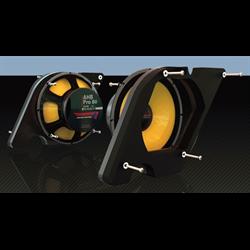Aggressor Pro 80 Woofer Mount (Pair - Harley Davidson '98 - up) - Special Order