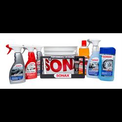 SONAX Starter Bucket Kits (Exterior Automotive Detailing - 6 pk.)