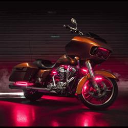 SaddleTramp RGB LED Light Strip Kit (Harley-Davidson FLH / FLT '96 - up)