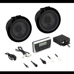 Metra PowerSports Bluetooth / USB Media Player + Radio with Speakers