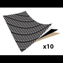 SQL Soundmat Bulk Kit - (10) 1m x 0.5m Sheets (55 sq. ft. Total)