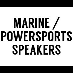 All Marine / Powersports Speakers