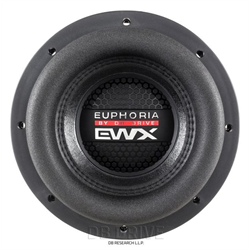 "DB Drive Euphoria EWX Subwoofer (8"" - 1500W Max - Dual 2 Ohm)"